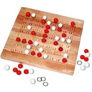 Tic-Tac-Ku Add On Kit For Colorku Board (Red/White) By Mad Cave Bird Games