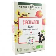 Nature & Santé Ampoules Bio Circulation 20×10 ml – Aux plantes françaises