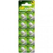 Gp Batteries Blister 10 Batterie Alcaline Specialistiche a Bottone LR54