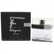 Salvatore Ferragamo F by Ferragamo Black eau de toilette para hombre 30 ml