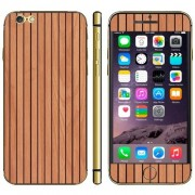 iPhone 6(S) (4.7 inch) Skin sticker Wood Pattern