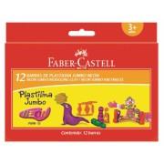 Plastilina 12 Culori Neon 160G Faber-Castell