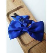 Папийонка за сватба в кралско синьо