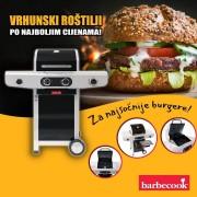BARBECOOK SIESTA 210 BLACK EDITION plinski roštilj