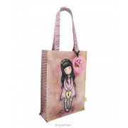 Santoro pink shopping bag Gorjuss The Secret