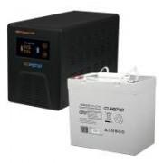 Комплект ИБП Инвертор Энергия Гарант 500 + Аккумулятор 55 АЧ