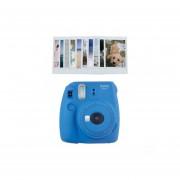 Kit INSTAX Mini 9 Azul Cobalto Con Pelicula De 10 Hojas