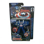 Play-Hub Captain America Transformation Deformation Car Truck Avengers Age of Ultron Action Figure Transformers Toy