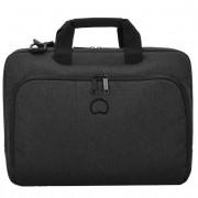 Delsey Esplanade Laptoptasche 41 cm Laptopfach schwarz