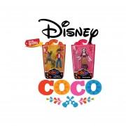 2 Piezas Imelda Miguel Y Dante Coco Disney Original De Coleccion Articulados