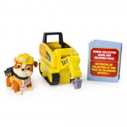 Set Rubble si mini vehicul picamer Ultimate Rescue Patrula Catelusilor