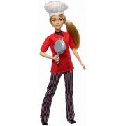 Papusa Barbie Chef in bucatarie 30 cm