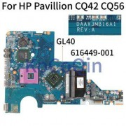 HP KoCoQin Laptop motherboard For HP Pavillion CQ42 CQ56 Core GL40 Mainboard 616449-001 DAAX3MB16A1 ddr2