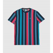 Tommy Jeans Vertical Stripe T-Shirt, multifärgad