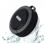 Parlante Mini Bluetooth Portatil Baño Ducha Resistente Agua -Negro