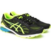 Asics GT-1000 5 RunningShoe For Men(Black, Green)