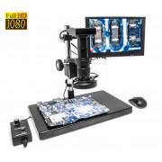 SMART mikroskop ALL-IN-ONE 1080p s monitorem a pokročilým měřením
