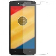 Deltakart Tempered Glass for Motorola Moto C Plus