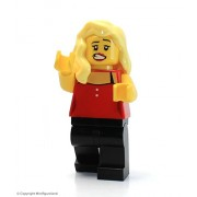 The LEGO Movie MiniFigure - Sharon Shoehorn (From Set 70806)