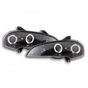 FK-Automotive phares Angel Eyes Opel Tigra an. 95-03 noir