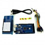Kit Compatibil cu Arduino MEGA 2560 cu Proto Shield