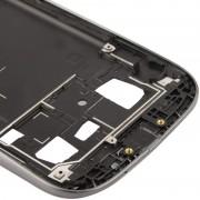 iPartsBuy 2 en 1 pour Samsung Galaxy S III / i9300 (médium LCD d origine + châssis avant d origine) (Gris)