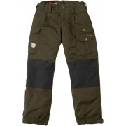 FjallRaven Kid's Vidda Padded Trousers - Dark Olive - Pantalons de voyages 134