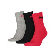 PUMA Soft Cotton Logo Socks 3 Pack BGR