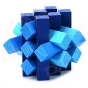 15-en-1 inteligencia educativa de madera juego de rompecabezas de rompecabezas