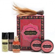 Gift Set of Kama Sutra Strawberry Weekender Kit And Silver Bullet