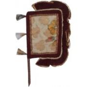 Apex Self Design Multicolor Hand Fan(Pack of 1)