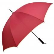 Umbrela Samurai XL ICONIC Automata, Visiniu cu margine crem,