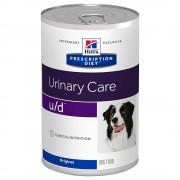 Hill's Prescription Diet u/d Urinary Care umido per cani - Set %: 24 x 370 g