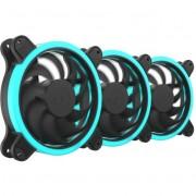 Set 3 ventilatoare Silentium PC Corona HP RGB 140 mm