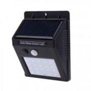 Proiector Cu Panou Solar si Senzor de Miscare DX10 Lampa 20 LED-uri