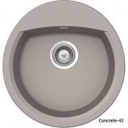 Schock Manhattan R100 gránit mosogatótálca - Concrete-42 színben