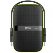 """1TB Silicon Power Armor A60, 2.5"""" (6.35 cm), външен, ударо-устойчив, USB3.0, 3г. гаранция"""