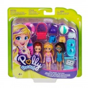 Polly Pocket Set de figuras Polly Pocket Mattel 3 Piezas