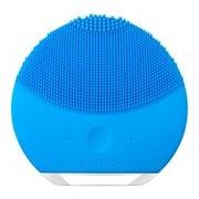 Luna mini 2 escova de limpeza facial compacta todo tipo pele aquamarine - Foreo