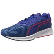 Puma Men's Ignite 3 True Blue, Blue Danube and Bright Plasma Running Shoes - 8 UK/India (42 EU)