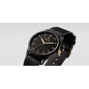 TRIWA Midnight Lansen Watch Black