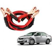 Auto Addict Premium Quality Car 500 Amp Heavy Duty Copper Core Tangle Battery Booster Cable 7.5 Ft For Toyota Corolla