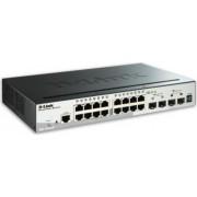 Switch D-Link 16-porturi Gigabit + 4 SFP DGS-1510-20