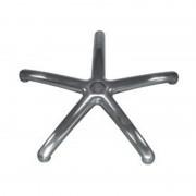 Base Kyoto alumínio polido 49 cm para Rodas com Perno 11 cm