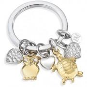 portachiavi morellato love charms animals & heart - animali sd 7133