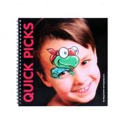 Schminkboek oog en neus schminken
