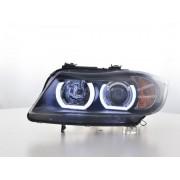 FK-Automotive fari Daylight LED DRL look BMW serie 3 E90/E91 anno di costr. 05-08 nero