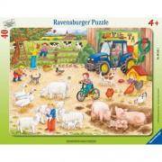 Puzzle la ferma cea mare, 40 piese, RAVENSBURGER