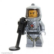LEGO City Volcano Explorers MiniFigure: Male Scientist w/ Heatsuit (Set 60124)
