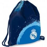 Sac de umar cu snur FC Real Madrid albastru